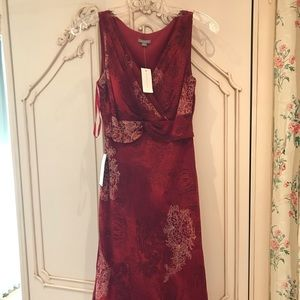 Ann Taylor Never Worn With Tags Long Red Dress